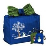 Reusable Holiday Bags for Gift Wrapping