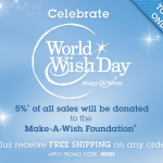 Disney Store World Wish Day – 5% of Sales to Make-A-Wish Foundation