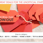 Zulily Memorial Day Blow-Out Sale