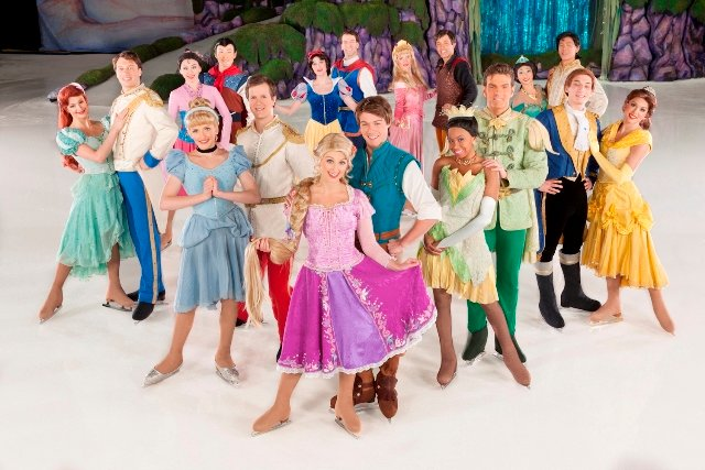 Disney Princesses on Ice