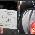 The Lion King 3D Red Carpet Hollywood Premiere at El Capitan Theater