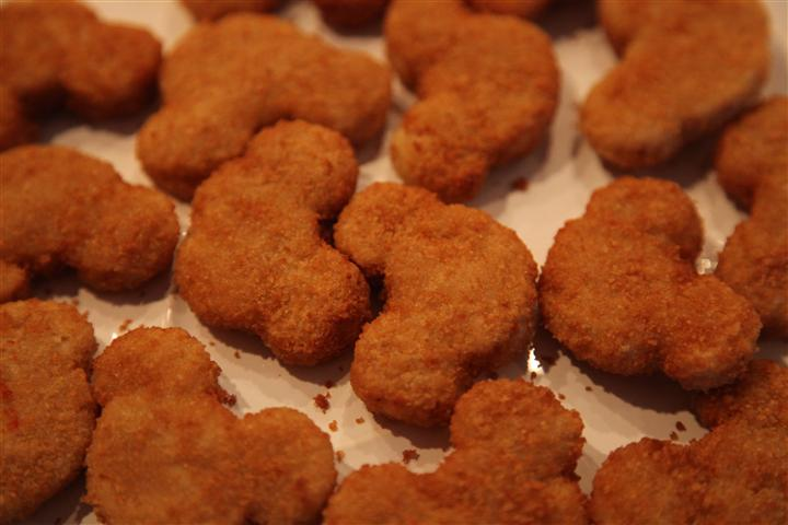 Mickey Minnie Mouse Chicken Nuggets