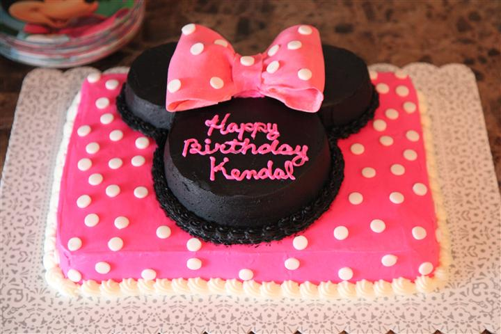 Minnie Mickey Mouse Birthday Party Decorations Cake Ears More