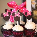 Minnie Mickey Mouse Birthday Party Decorations, Cake, Ears & More
