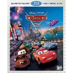 Cars 2 5 disc combo pack