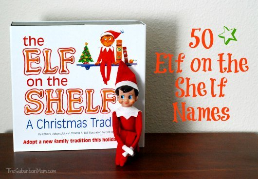 Christmas Elf Names.How To Name Your Elf On The Shelf 50 Ideas Thesuburbanmom