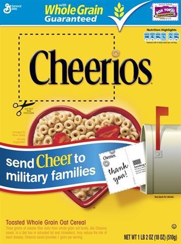 Cheerios Cheer Box
