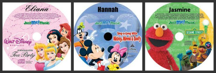 Personalized CD for Kids