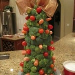 Christmas Veggie Tree