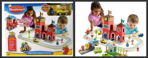 Richard Scarry's Busytown Town Hall Deluxe Playset with DVD