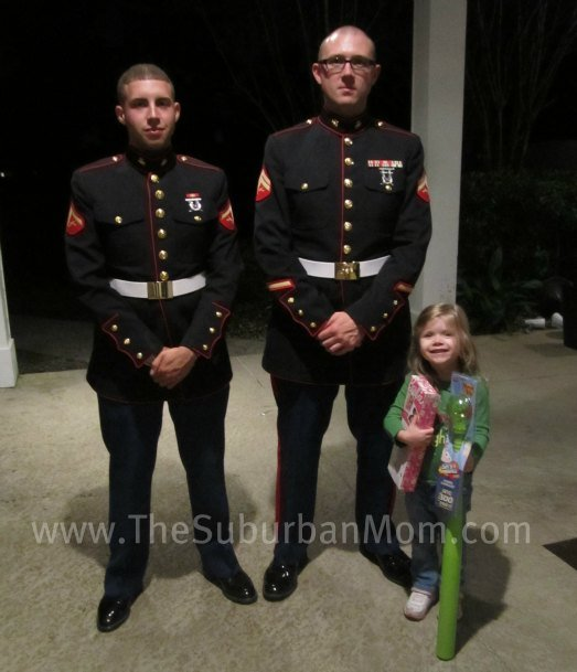 Marines for Toys for Tots