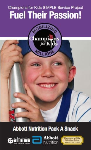 Champions for Kids Snack Pack