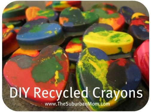 How to Recycle Crayons