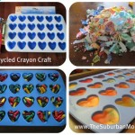 How to Recycle Crayons ~ Valentine's Day Kids Craft