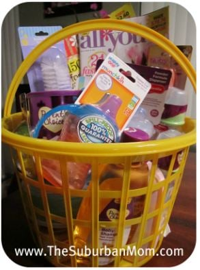 Easter Baby Basket