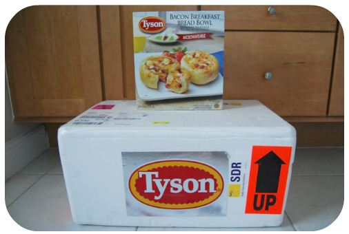 Tyson Breakfast bowls