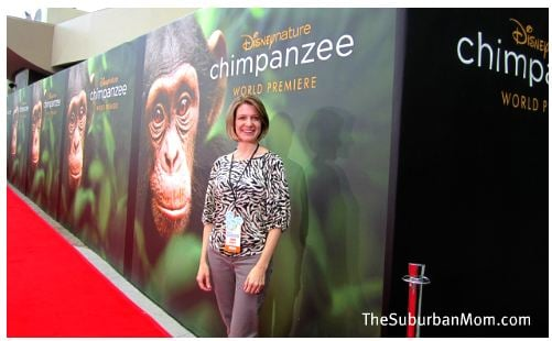 Chimpanzee Red Carpet Premier