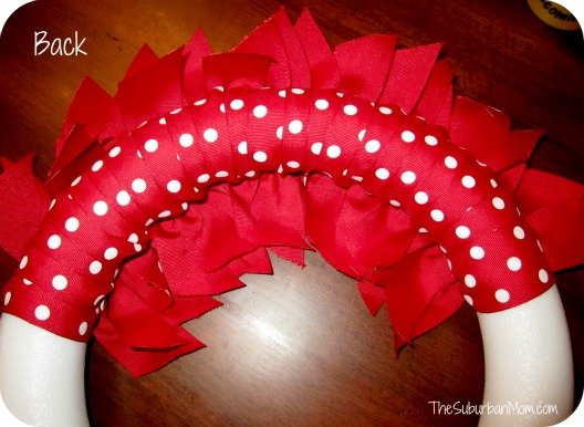 How To Make A Diy 4th Of July Ribbon Wreath Thesuburbanmom