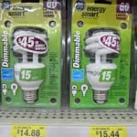 Dimmable CFL Light Bulbs