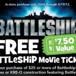 Free Movie Ticket To Battleship