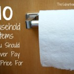 10 Household Items You Should Never Pay Full Price For