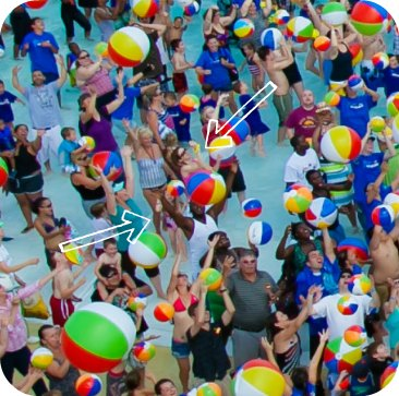 Legoland water park beach ball guinness book record