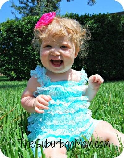 Baby Lace Pettiromper
