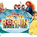 Disney on Ice Presents Rockin Ever After Logo