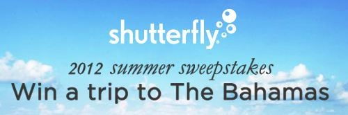 Shutterfly Summer Sweepstakes