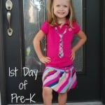 Wordless Wednesday ~ 1st Day of School