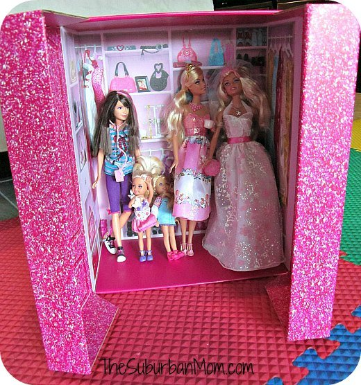 Barbie Fashion Show Doll do a fashion show for dad