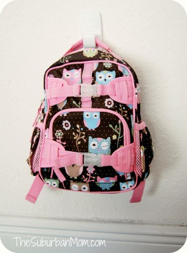 Pottery Barn Kids Mackenzie Owl Backpack