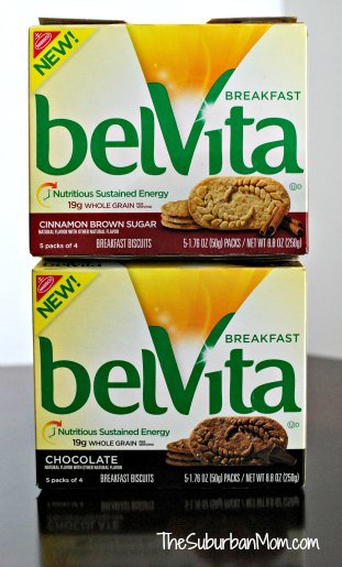 belVita Chocolate Cinnamon Brown Sugar Breakfast