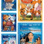 From The Disney Vault: The Tigger Movie, Pocahontas, The Rescuers, The Aristocats and Lady and the Tramp 2 ($10 Off Coupon Too)
