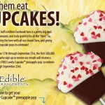 Edible Arrangements Free Cupcake Pop