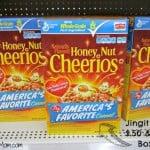 Honey Nut Cheerios General Mills Box Tops Education