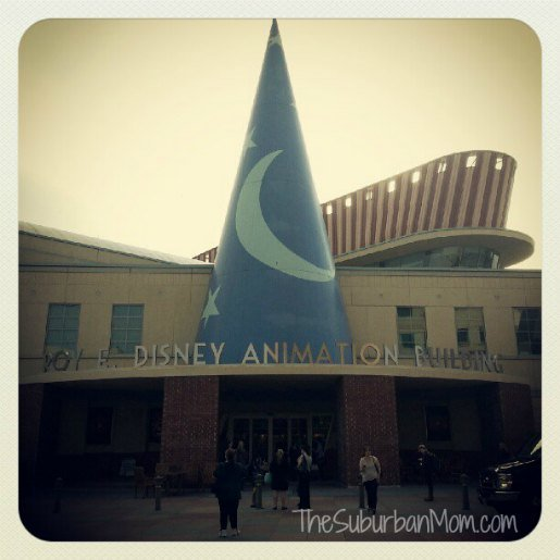 Disney Animation Studio Building