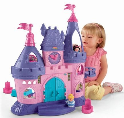 Fisher-Price Little People Disney Princess Songs Palace Play Set