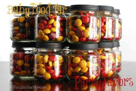 Baby Food jar DIY Party Favor Halloween