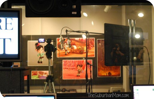 Disney Animation Recording Studio