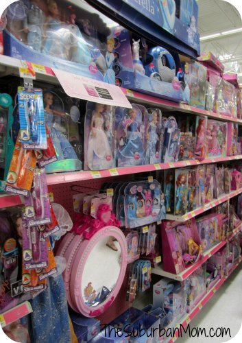 Disney Princess Aisle Walmart Pink