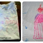 Simple, Homemade And Upcycled Smock Project