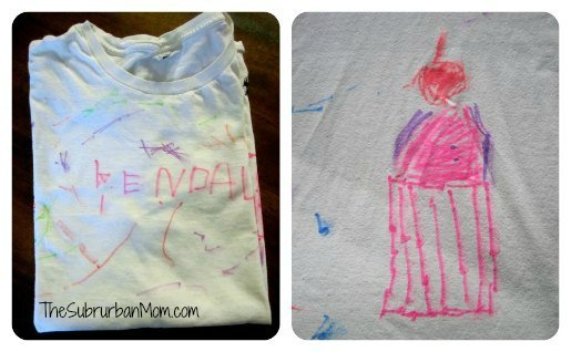 DIY Homemade Art Smock for Kids Craft