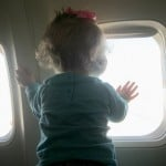 Wordless Wednesday ~ First Plane Ride