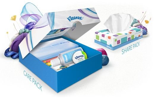 Kleenex Share Care Pack