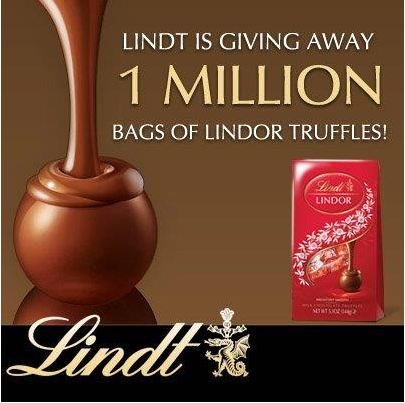 Free Lindt Lindor Chocolate Truffle