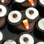 Owl Cupcakes Halloween Hostess Ding Dongs Desert