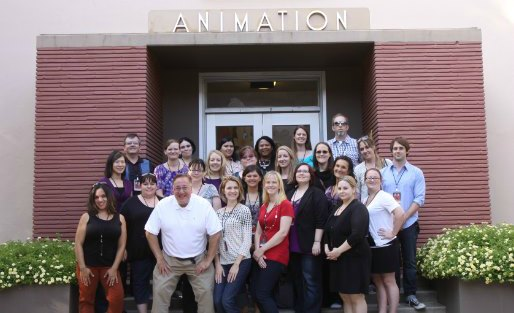 Walt Disney Animation Studio Building