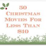 50 Christmas Movies Under $10