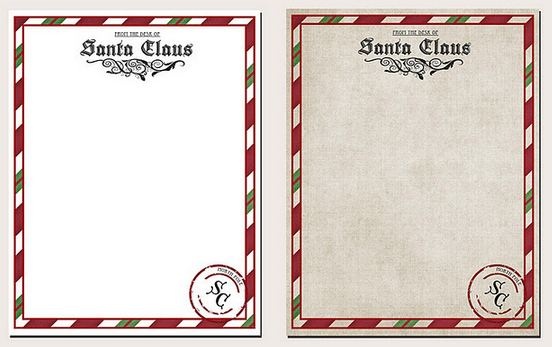 How to get a letter from santa postmarked north pole its free free printable letter from santa claus template spiritdancerdesigns Images